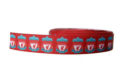 25mm Wide Liverpool FC Martingale Collar