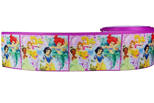 38mm Wide Princesses Martingale Dog Collar