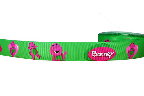 25mm Wide Barney Dog Collar