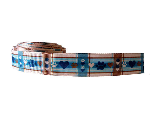 25mm Wide Puppy Picnic Double Ended Lead