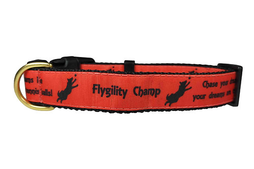 25mm Wide Flygility Dog Collar