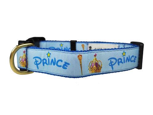 25mm Wide Prince Dog Collar