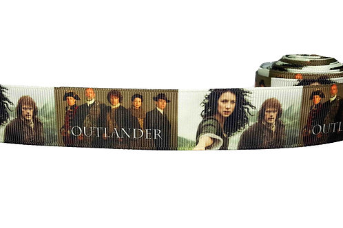 25mm Wide Outlander Dog Collar