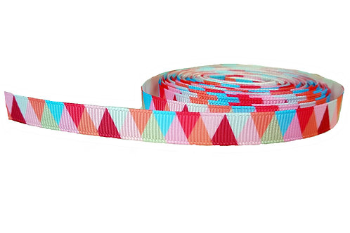 Pink Triangles Cat Collar