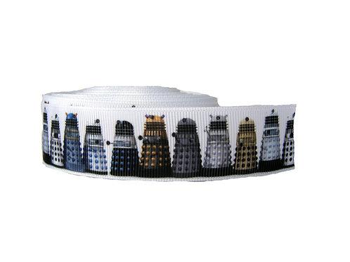 25mm Wide Dr Who Daleks Lead