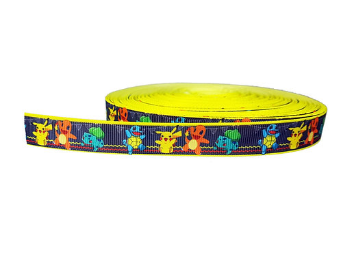 19mm Wide Pokemon Party Double Ended Lead