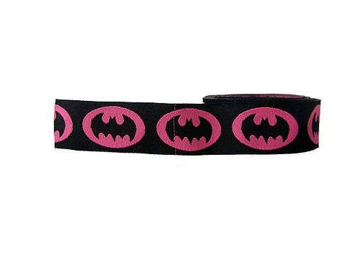 25mm Wide Batgirl Martingale Collar