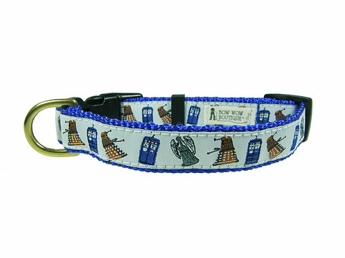 19mm Wide Dr Who Collar