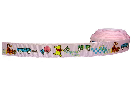 19mm Wide Winnie the Pooh & Tigger Double Ended Lead