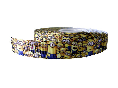 25mm Wide Minions Overload Martingale Collar