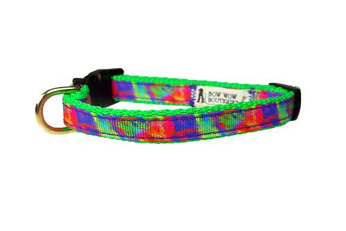 12.7mm Wide Tie Dye Collar