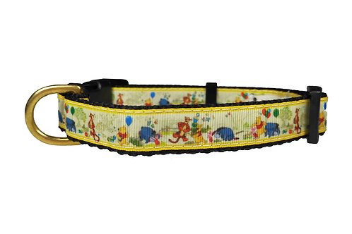 19mm Wide Winnie The Pooh Dog Collar