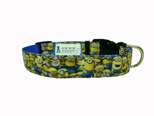 25mm Wide Minions Overload Dog Collar