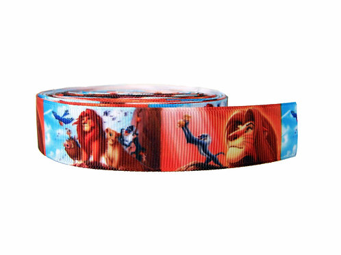 25mm Wide Lion King Martingale Collar