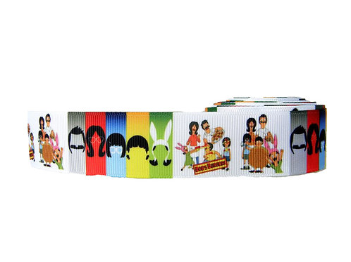 25mm Wide Bobs Burgers Double Ended Lead