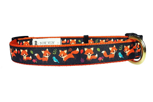 25mm Wide For Fox Sake Dog Collar