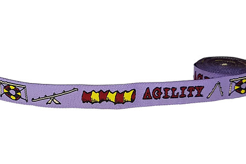 19mm Wide Lilac Agility Collar