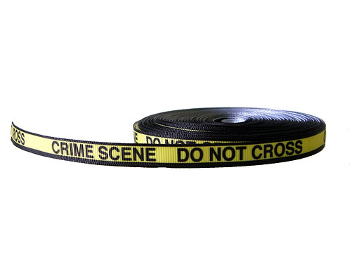 12.7mm Wide Crime Scene Double Ended Lead
