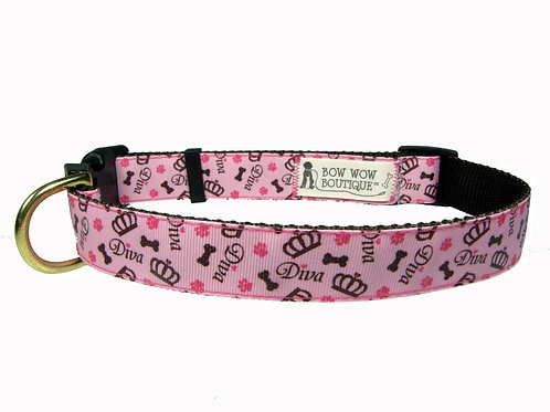 25mm Wide Diva Dog Collar