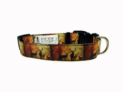 25mm Wide Deer Dog Collar