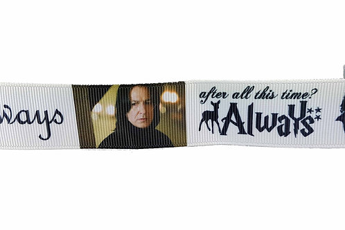25mm Wide Always - Severus Snape Dog Collar