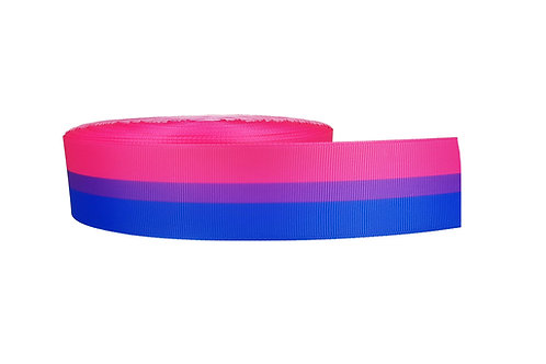 38mm Wide Bisexaul Flag Martingale Dog Collar
