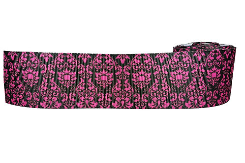 38mm Wide Pink Regal Martingale Dog Collar