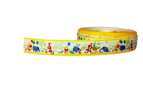 19mm Wide Winnie the Pooh Double Ended Lead
