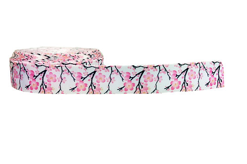 19mm Wide Cherry Blossom Martingale Collar