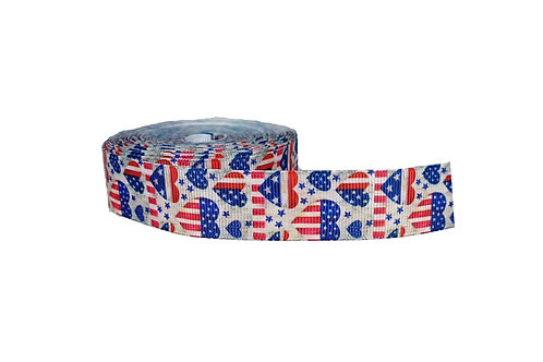 25mm Wide Love America Double Ended Lead