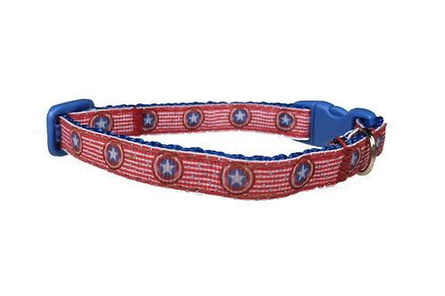 Cat Collar Captain America
