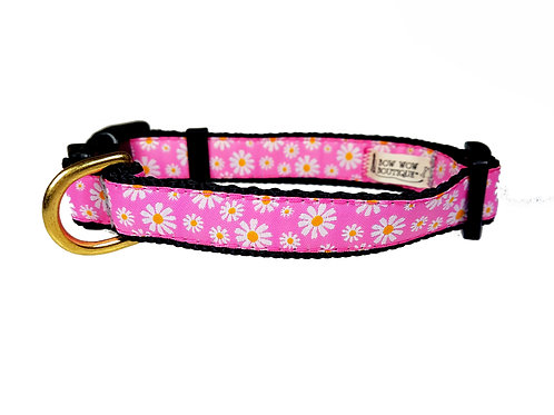 19mm Wide Daisies Collar