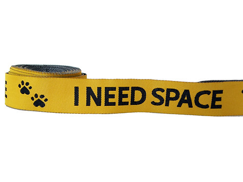 25mm Wide I Need Space Double Ended Lead