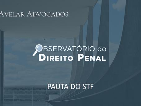 Pauta Penal do STF - 1º semestre de 2021