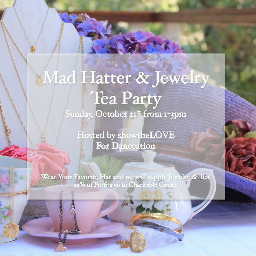 Mad Hatter & Jewelry Tea Party