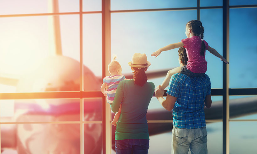 Plane travel as a family doesn't have to be as hard as it seems!
