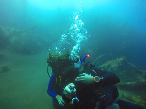 Congrats to Giuseppe for completing his certification!  Welcome to the Scuba Family!