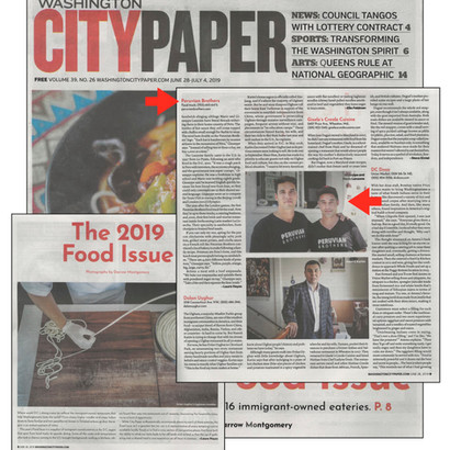Washington City Paper, The 2019 Food Issue
