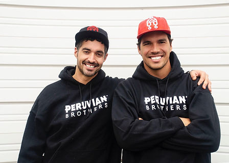 Peruvian Brothers, Mario and Giuseppe La
