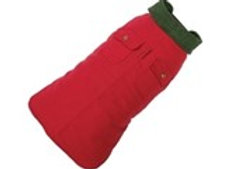 Red Chester Barn Coat for Dogs