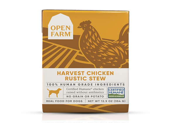 Open Farm Harvest Chicken Rustic Stew for Dogs