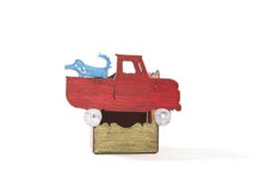 Pickup Truck Dog Pencil Caddy