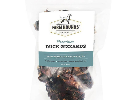 Farm Hounds All Natural Duck Gizzards Dog Treats