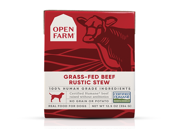 Open Farm Grass-Fed Beef Rustic Stew for Dogs