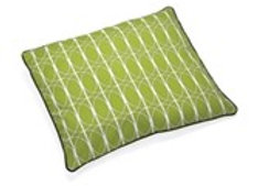 "Up Country Pet Futon, Green ""Circular""Pattern"