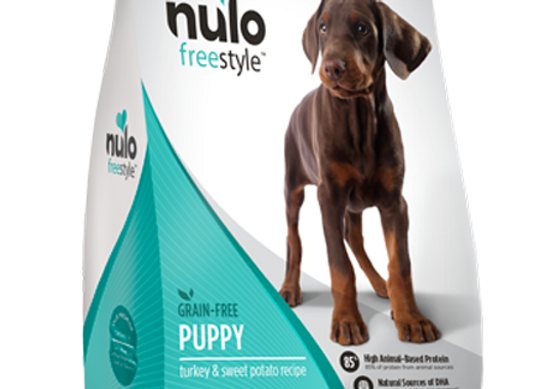 Nulo Freestyle Grain-Free Puppy Food - Turkey and Sweet Potato Recipe