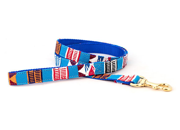Antigua Island Colorful Cotton Dog Leash