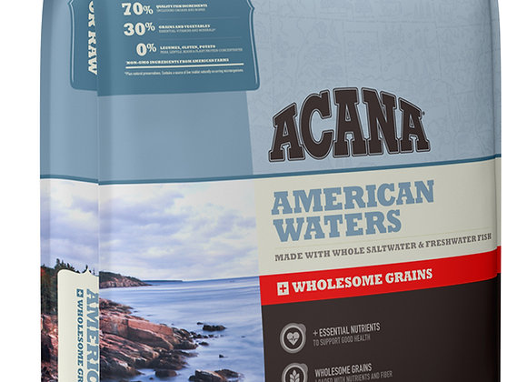 "Acana ""American Waters"" Nature-Based Dry Dog Food with Wholesome Grains"