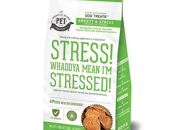 Stress! Whaddya Mean I'm Stressed! Calming Treats for Dogs