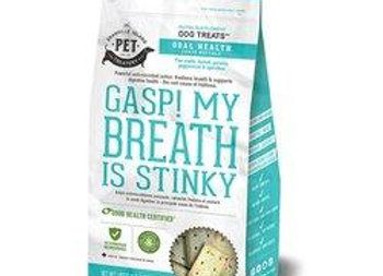 Gasp! My Breath Is Stinky! Breath Freshening Supplement Treats for Dogs